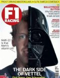 Sebastian Vettel on the cover of F1 Racing (United Kingdom) - June 2013