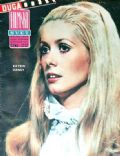 Catherine Deneuve on the cover of Filmski Svet (Yugoslavia Serbia and Montenegro) - October 1967