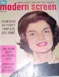 Jacqueline Kennedy on the cover of Modern Screen (United States) - June 1962