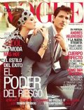 Julia Dunstall on the cover of Vogue Hombre (Mexico) - March 2011