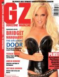 Bridget Marquardt on the cover of Gorezone (United Kingdom) - November 2010