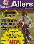 Allers Magazine [Sweden] (23 June 1974)