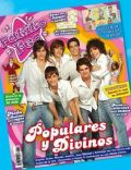 Andres Gil, Gastón Soffriti, Juan Manuel Guilera, Nicolas Zuviria, Santiago Talledo on the cover of Patito Feo (Argentina) - April 2008