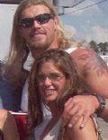 Edge and Lisa Ortiz (former Wife)