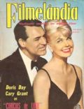 Doris Day on the cover of Filmelandia (Brazil) - October 1962