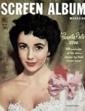 Elizabeth Taylor on the cover of Screen Album (United States) - December 1952