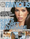 Kim Kardashian on the cover of Famous (Australia) - April 2010