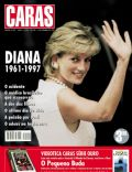 Princess Diana on the cover of Caras (Brazil) - September 1997