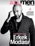 Hayko Cepkin on the cover of All Men (Turkey) - November 2013