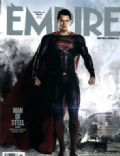 Henry Cavill, Man of Steel, Superman on the cover of Empire (United Kingdom) - June 2013