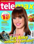 Paulina Chylewska on the cover of Tele Max (Poland) - June 2011