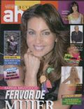 Karina Mazzocco on the cover of Ahora (Argentina) - April 2010
