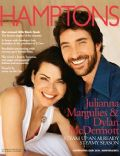 Dylan McDermott, Julianna Margulies on the cover of Hamptons (United States) - June 2004