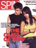 Elijah Wood, Jordana Brewster on the cover of Spin (United States) - February 1999