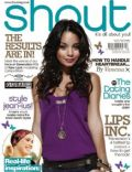 Vanessa Hudgens on the cover of Shout (United Kingdom) - April 2011
