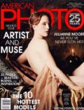 Julianne Moore on the cover of American Photo (United States) - March 2003
