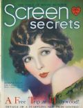 Edwin Bower Hesser, Marian Nixon on the cover of Screen Secrets (United States) - December 1929