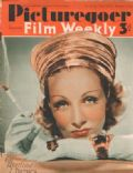 Marlene Dietrich on the cover of Picturegoer (United Kingdom) - December 1940