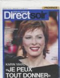 Direct soir Magazine [France] (31 March 2010)