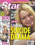 Lindsay Lohan on the cover of Star (United States) - July 2010