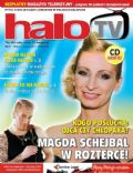 Magdalena Schejbal on the cover of Halo TV (United Kingdom) - July 2011