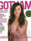 Christina Ricci on the cover of Gotham (United States) - March 2003