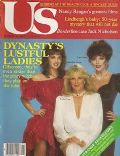 Joan Collins, Linda Evans on the cover of Us Magazine (United States) - March 1982