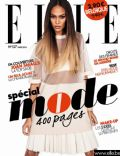 Joan Smalls on the cover of Elle Belgique (Belgium) - March 2014
