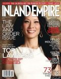 Lucy Liu on the cover of Inland Empire (United States) - November 2012