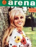 Britt Ekland on the cover of Arena (Yugoslavia Serbia and Montenegro) - December 1968