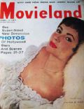 Elizabeth Taylor on the cover of Movieland (United States) - November 1955