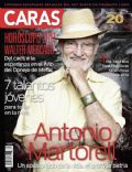 Antonio Martorell on the cover of Caras (Puerto Rico) - January 2011