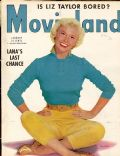 Doris Day on the cover of Movieland (United States) - January 1954