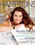 Brooke Shields on the cover of Hamptons (United States) - May 2013