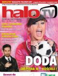 Dorota Rabczewska on the cover of Halo TV (United Kingdom) - July 2011