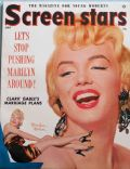 Marilyn Monroe on the cover of Screen Stars (United States) - July 1955