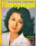 Komaki Kurihara on the cover of Filmspiegel (Germany) - June 1979