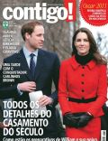 Kate Middleton, Prince William Windsor on the cover of Contigo (Brazil) - March 2011