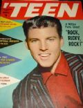 Ricky Nelson on the cover of Teen (United States) - September 1957