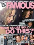 Angelina Jolie on the cover of Famous (Australia) - September 2010