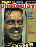 Jack Nicholson on the cover of Photoplay (United Kingdom) - November 1980