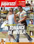 Grecia Colmenares, Matías Ale on the cover of Paparazzi (Argentina) - December 2011