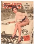 Rita Moreno on the cover of Picturegoer (United Kingdom) - December 1954