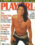 Steven Tyler on the cover of Playgirl (United States) - October 1990