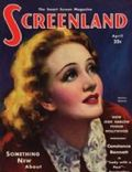 Marlene Dietrich on the cover of Screenland (United States) - April 1932
