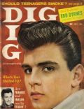 Fabian on the cover of Dig (United States) - July 1959