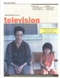 Tilda Swinton, We Need to Talk About Kevin on the cover of Television (Cyprus) - November 2012