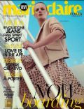 Anne Vyalitsyna on the cover of Marie Claire (Italy) - April 2014