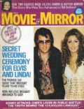 Elvis Presley on the cover of Movie Mirror (United States) - May 1975