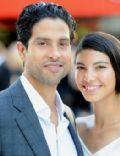 Adam Rodriguez and Grace Gail